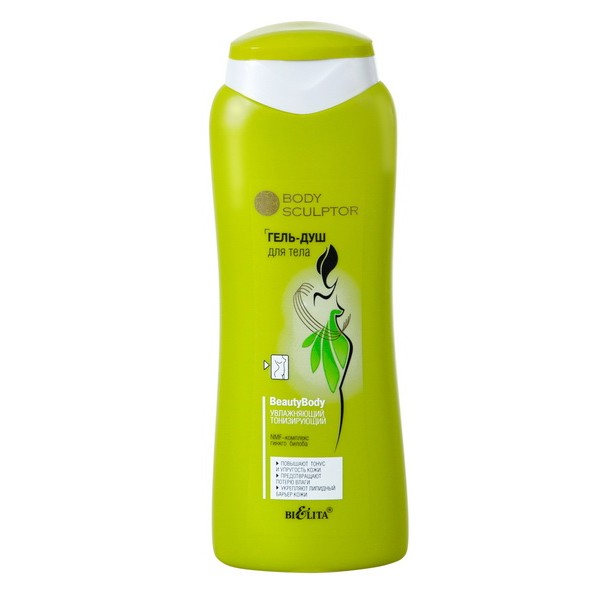 "HIDRIRAJUĆI TONIRAJUĆI GEL ZA TUŠIRANJE ""BODY SCULPTOR"", 400 ml"