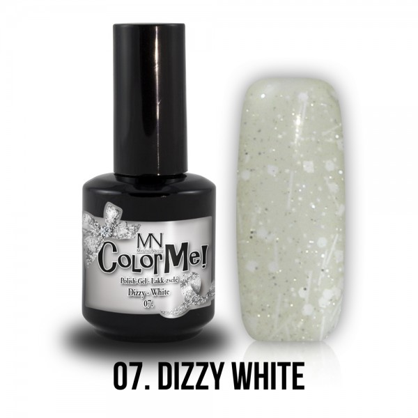 ColorMe! Dizzy no.07. - Dizzy White 12 ml