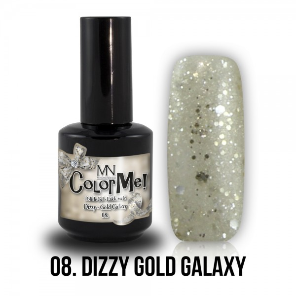ColorMe! Dizzy no.08. - Dizzy Gold Galaxy 12 ml