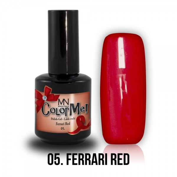 Gel-Lak br.05. - Ferrari Red 12 ml