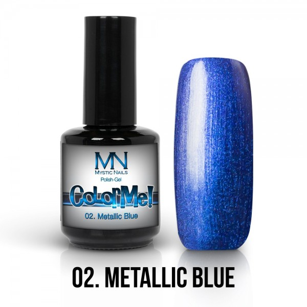 ColorMe! Metallic no.02. - Metallic Blue 12 ml