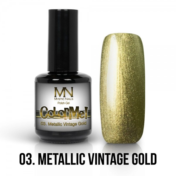 ColorMe! Metallic no.03. - Metallic Vintage Gold 12 ml