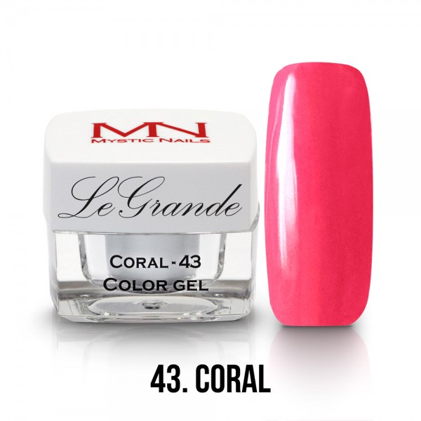 LeGrande Color Gel - no.43. - Coral - 4g