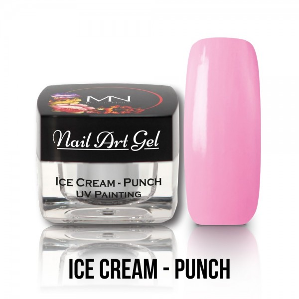 UV Painting Nail Art Gel - Ice Cream - Punch